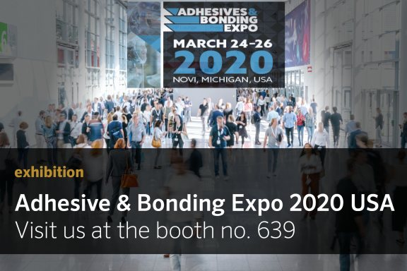 Banner artimelt News Expo Adhesive Bonding USA Website...