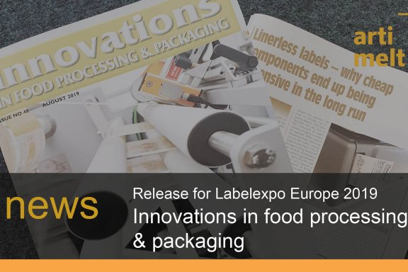 news innovations and labelexpo europe linerless artimelt